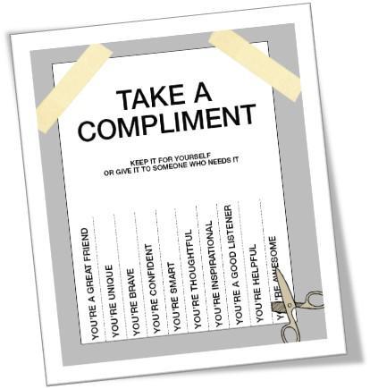 spreuken complimenten Complimenten die je van anderen krijgt, zijn de echo van  spreuken complimenten